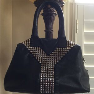 Authentic Yves Saint Laurent Studded Easy Bag